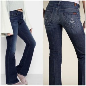 7 For All Mankind A Pocket Bootcut/Flare Jeans